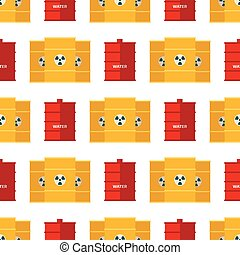 acier, barils, huile, récipient, tambours, stockage, capacité, métal, seamless, tonneau, fond, carburant, rangées, vecteur, illustration, réservoirs, modèle, bowels, naturel, vaisseau