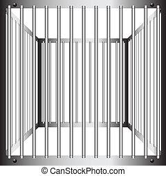 acier, cages