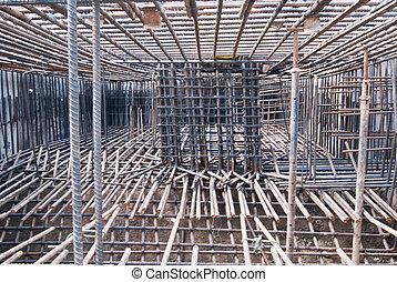 acier, construction