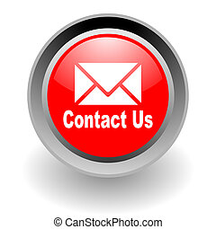 acier, contact, glosssy, nous, icône