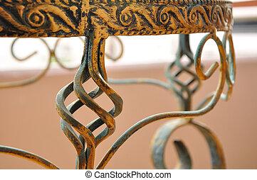acier, courber, usage, former, directeurs, meubles