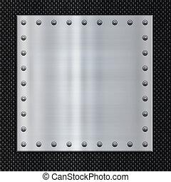 acier, fibre, carbone