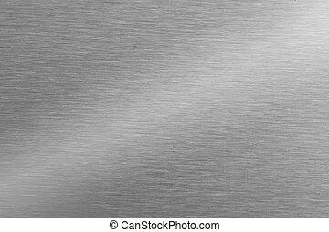 acier inoxydable, fond, texture