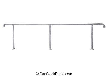 acier, sans tache, railing.