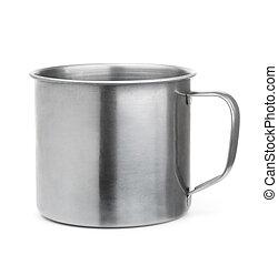 acier, sans tache, tasse