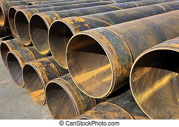 acier, tubes