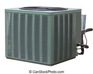 acondicionador, central, aire