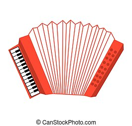 acordion musical instrument icon