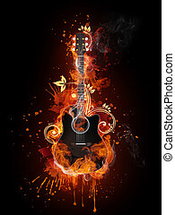Acoustic - Electric Guitar