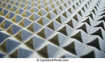 Acoustic foam panel background