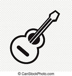 acoustic guitar icon