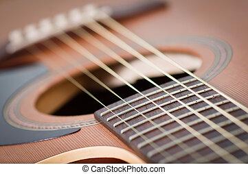 acoustic guitar - a picture of an acoustic guitar - suitable...