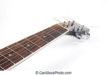 Acoustic guitar's neck