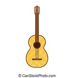 Acoustic Vector Guitar Illustration