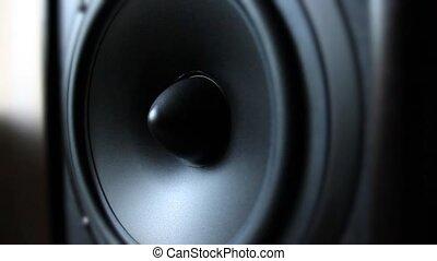 acoustique, orateur, système, /
