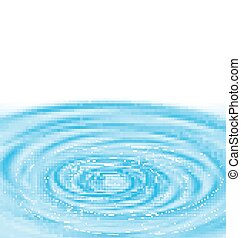 acqua, blu, astratto, fondo, piroetta
