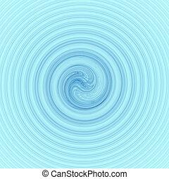 acqua blu, mulinello