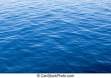 acqua blu, superficie, struttura
