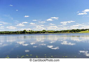 acqua, calma, lago