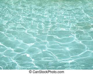 acqua, chiaro, aqua