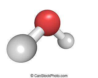 acqua, chimico, molecola, struttura