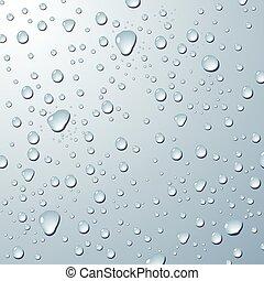 acqua, drops., fondo
