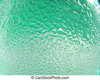 acqua, e, vetro