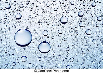acqua, foto, gocce, macro