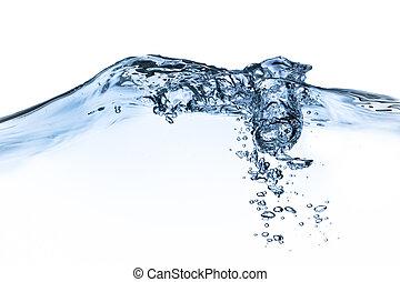 acqua, gli spruzzi