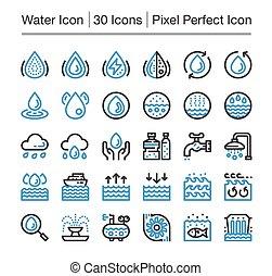 acqua, icona