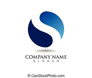 acqua, icone, simboli, s, vettore, sagoma, logotipo
