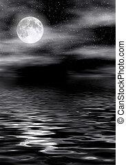 acqua, luna