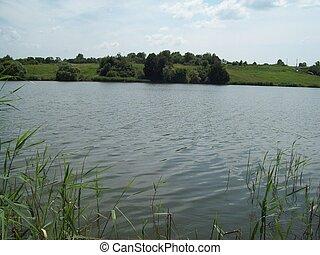 acqua, panorama, laghi, fiumi