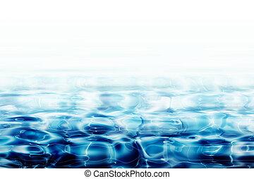acqua, pianoforte, chiaro, cristallo