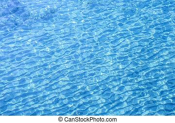 acqua, sole, riflettere