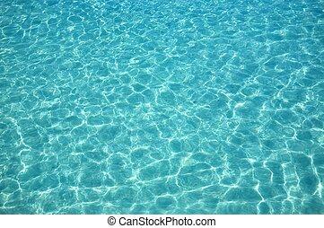 acqua, soleggiato, giorno, Increspature