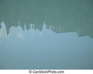 acqua, turchese, lago