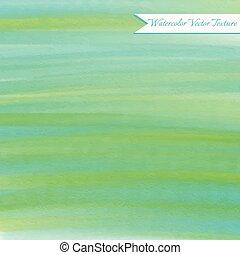 acquarello, astratto, verde, struttura