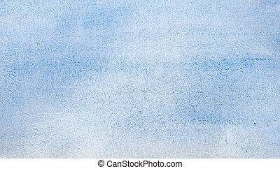 acquarello, blu, astratto, fondo