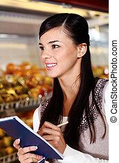 acquirente, supermercato