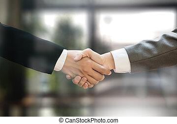 acquisitions), m&a, χειραψία , γραφείο , εργαζόμενος , (mergers, επιχειρηματίας
