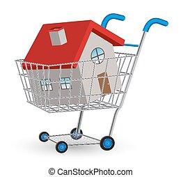 acquisto casa, carrello