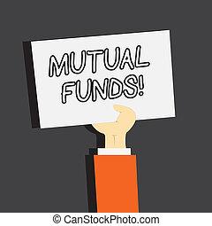 acquisto, comune, affari, foto, esposizione, funds., azioni...