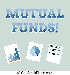 acquisto, comune, concetto, testo, funds., azioni, strategia...