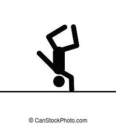 Acrobat vector icon