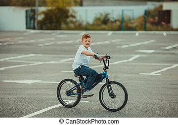 acrobaties, bmx biking