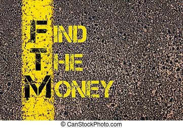 acronimo, soldi, ftm, trovare, affari