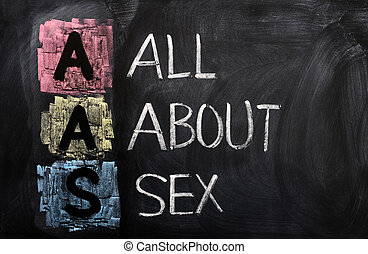Acronym of AAS for All About Sex