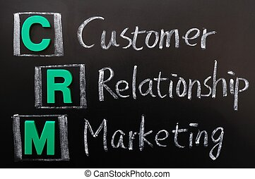 Acronym of CRM - Customer Relationship Marketing