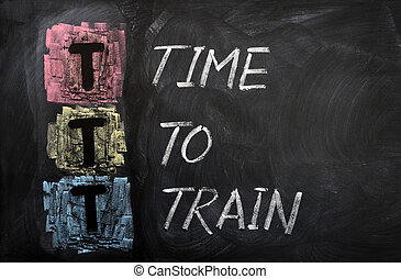 Acronym of TTT for Time To Train